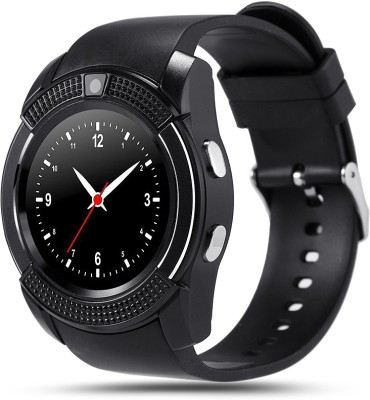Bingo C6 Black With Heart Rate Monitoring, Bluetooth and Sim Enabling Feature Smartwatch (Black Strap)