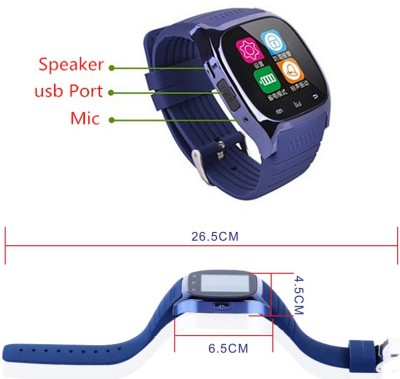 Medulla GTX (M26) for android Blue Smartwatch (Blue Strap)