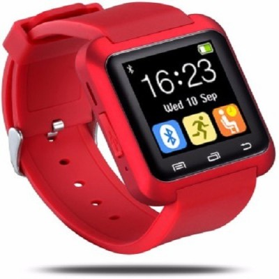 WDS SM01 Smartwatch (Red Strap)