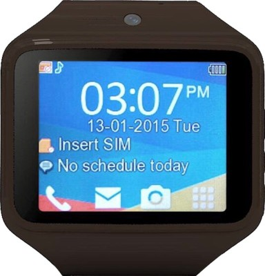 Kenxinda 2 Smartwatch (Brown Strap)