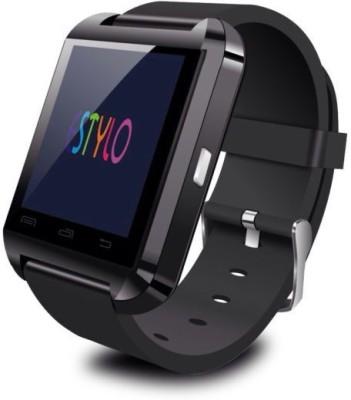 IWON U8-i1 Smartwatch (Black Strap)