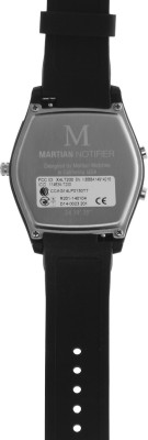Martian MN200BBB Notifier Analog Watch Smartwatch (Black Strap)