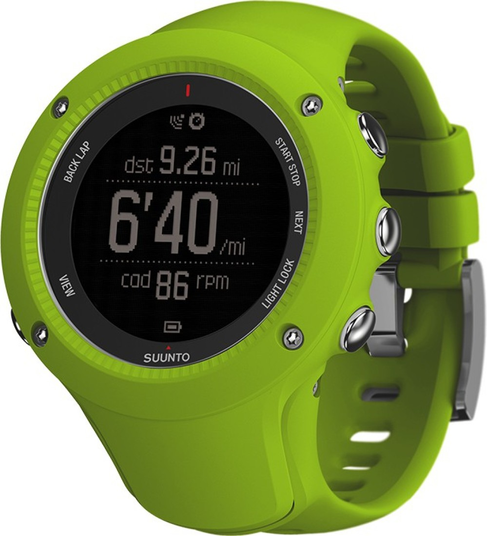 SUUNTO SS021260000 Ambit3 Run Digital Smartwatch