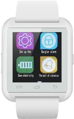 Bingo U8 Smartwatch (White Strap)