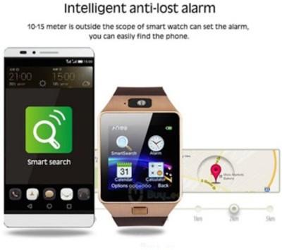 UFLUX Dzar Smartwatch (Black Strap)