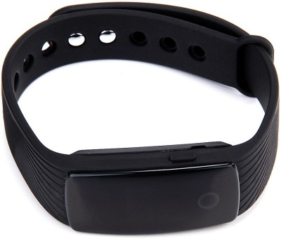 Syntrino HR107 Heart Rate Smart Band Tracker Smartwatch (Black Strap)