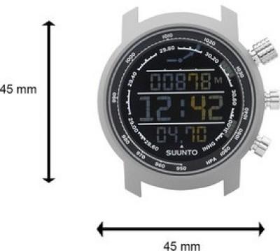 Suunto SS014521000 Elementum Terra Digital Smartwatch (Silver Strap)