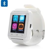 Wonder World ® U8 Extreme™ - RoboShields Military Grade White Smartwatch (White Strap)