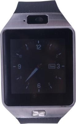 Roiex Bluetooth and Fitness Tracker Black Smartwatch (Black Strap M)