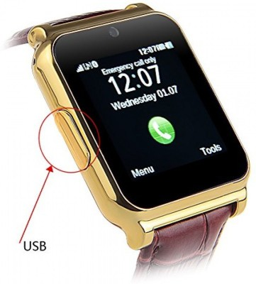 Impact W-90 Smartwatch (Gold Strap)