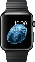 Apple Watch 42 Mm Space Black Stainless Steel Case And Link Bracelet Smartwatch (Black)