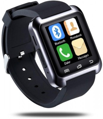 super vision u8 Smartwatch (Black Strap)