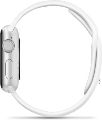 Bingo T50S White Ultimate Voice Control Bluetooth Notification Smartwatch (White Strap)