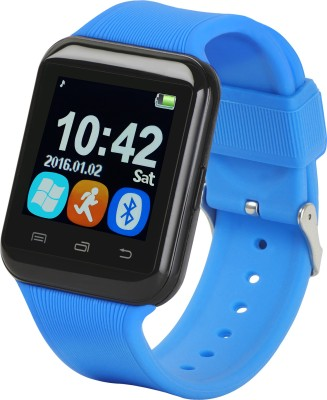 Bingo U8S With Remote Photo Function Smartwatch (Blue Strap)