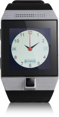 Merlin M70 Android Black, Shite Smartwatch (Black Strap)