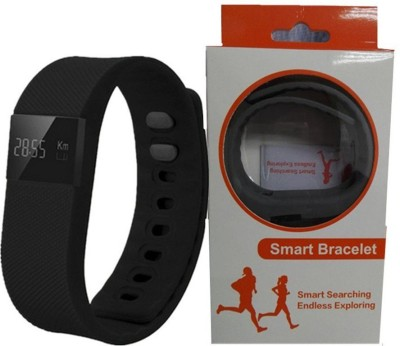 OPTA Bluetooth fitness tracker for Android/IOS Mobile Smartwatch (Black Strap)