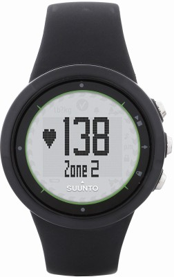 Suunto SS020647000 M2 Digital Smartwatch (Black Strap)