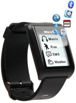 Merlin V2 Smartwatch (Black Strap)
