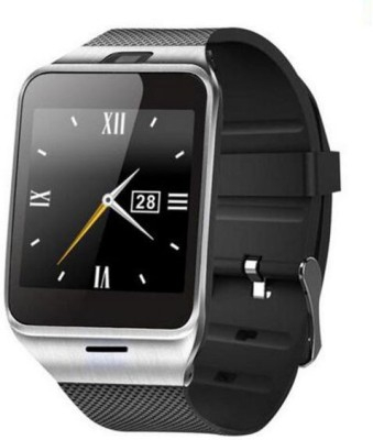 Maya Aplus watch A18 Black Silver Smartwatch (Black Strap)