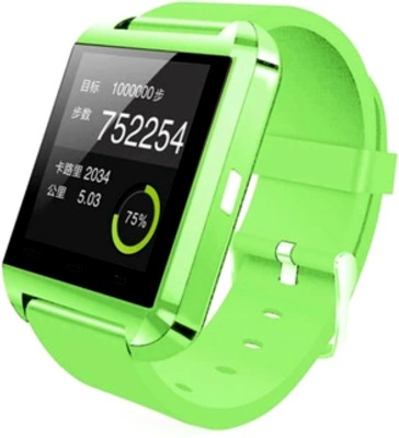 Bbroz U8 Green Smartwatch (Green Strap NA)