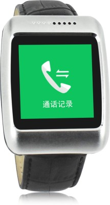 Kingshen Bluetooth Watch S13 Smartwatch (Black Strap)