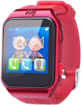FindU FY02S Smartwatch (Red Strap)