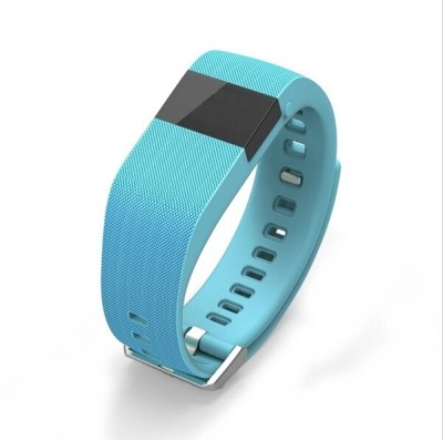 Flipfit Fitness Band HEART RATE MONITOR BLUETOOTH CALL NOTIFICATION 3D Pedometer Temperature Calorie Monitor band tracker Blue Smartwatch (Blue Strap Free Size)