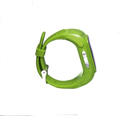Santwissen SantWatch-Kids wearable GPS tracker phone Green Smartwatch (Green Strap Free Size)