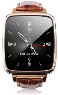 Velocity V4G Smartwatch (Brown Strap)