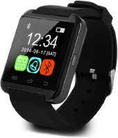 AJA Retail Bluetooth U8 Smart Watch For IPhone 4/5S/6 Samsung S4/Note 3 HTC Android /Ios Smart Phones Smartwatch (Black)
