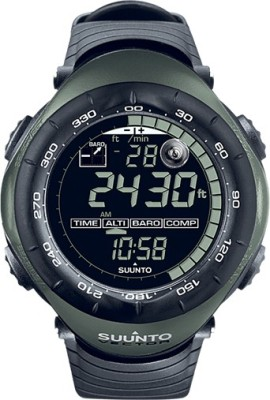Suunto SS010600F10 Vector Digital Military Foliage Green Smartwatch (Black Strap)