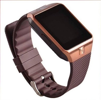 Epresent DZ09 Brown Smartwatch (Brown Strap)