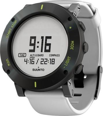 Suunto SS020690000 Core Digital White Crush Smartwatch (White Strap)
