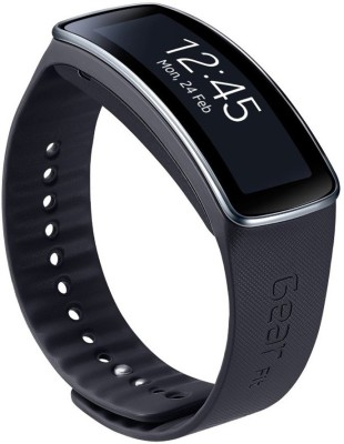 SAMSUNG Galaxy Gear Fit Smartwatch (Black Strap)