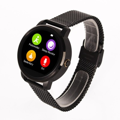 SPOT DEALZ SD- V360 Smartwatch (Black Strap)