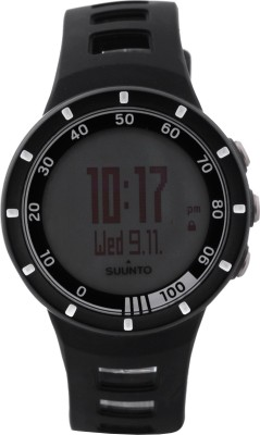 Suunto SS018153000 Quest Digital Smartwatch (Black Strap)
