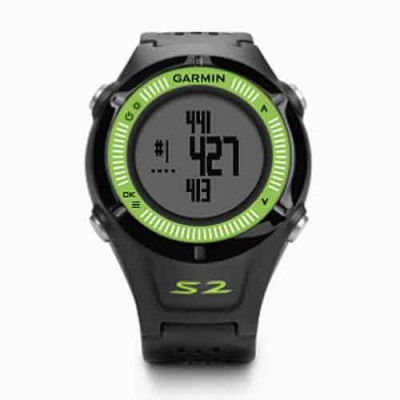 Garmin approach S2 Smartwatch (Black Strap m)