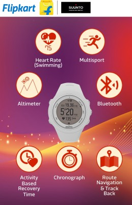 SUUNTO SS021468000 Ambit3 Sport Digital Smartwatch