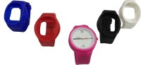 Dolphin Gallery 1 Watch With 4 Strap Smartwatch (Multicolor)