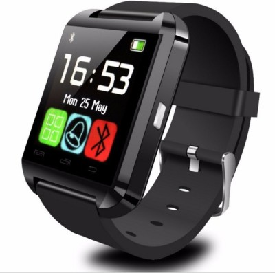 Celestech NS01 with Bluetooh and Fitness Tracker Black Smartwatch (Black Strap)