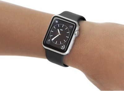Attire Unisex Classy Smartwatch (Black Strap L)