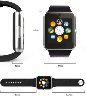 Introvert Rude Smartwatch (Black Strap)