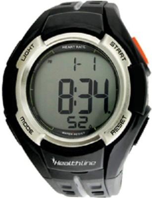 Healthline HRM-33 Smartwatch (Black Strap)