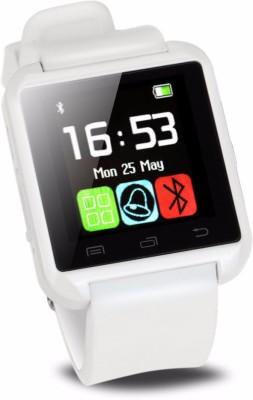 Blufury U8 - A + Smartwatch (White Strap)