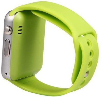 life like A1 BLUETOOTH WITH SIM CARD & SD CARD SUPPORT GREEN Smartwatch (Green Strap)