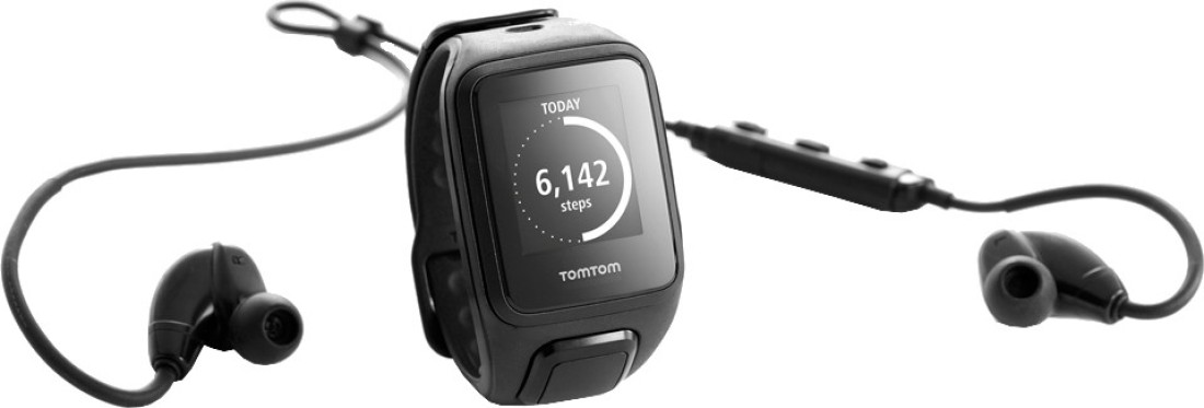 TomTom 1RFM.003.04 Spark Cardio Music Smartwatch