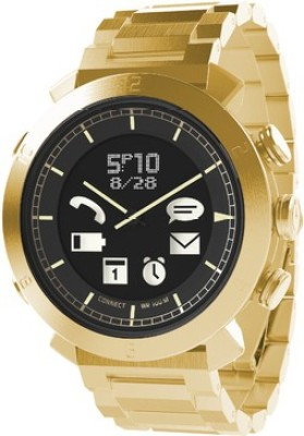 Cogito Classic Gold Metal Smartwatch (Gold Strap)