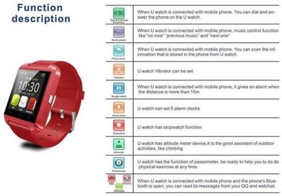 Atech-U8-Smartwatch