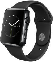 Apple Watch With Black Sport Band 42 Mm Case Smartwatch (Black)