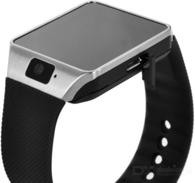 SG SG Bluetooth Silver, Black Smartwatch (Black Strap)